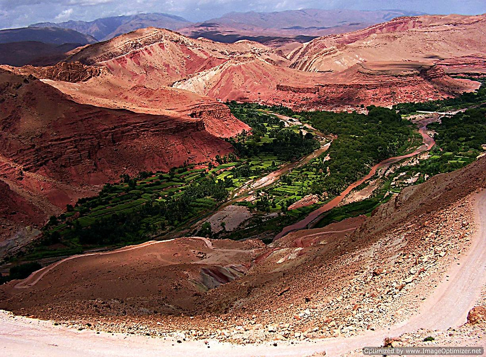 Above The Valley of the Roses, near Ourzazate, Morocco