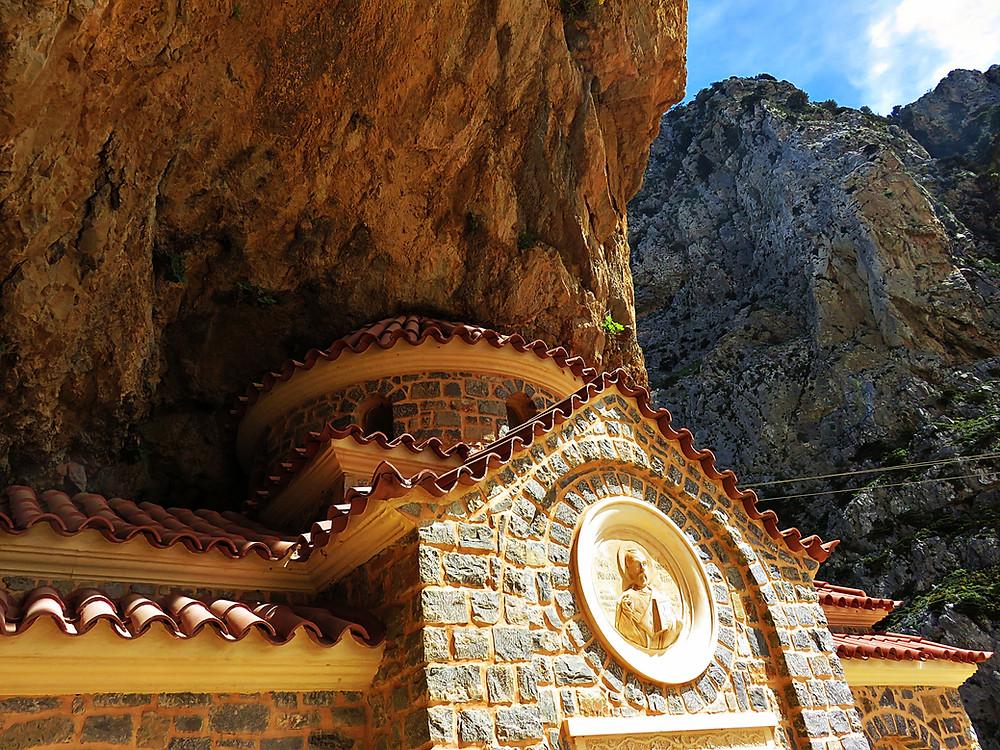 Agia Nikolas Monastery, Kourtaliotiko Gorge, Crete