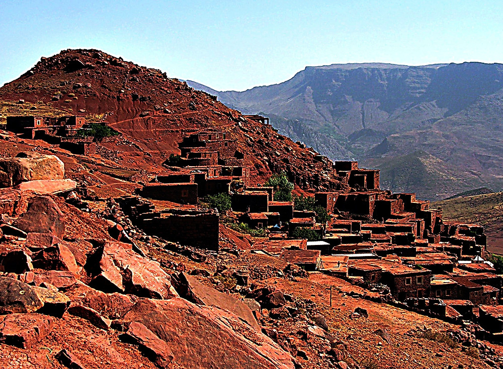 High Atlas village, Morocco