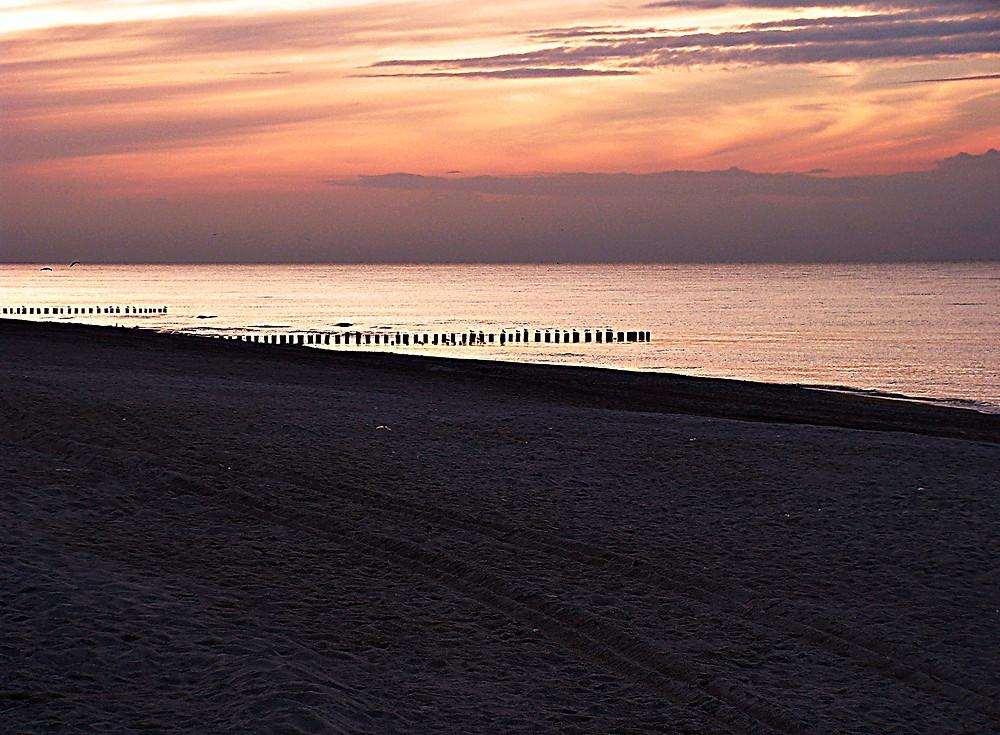 Beach, Baltic Sea, Polish coast, near Dzwinów