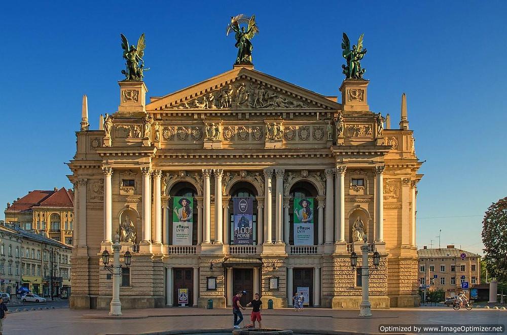 Solimiya Krushelnytska  Lviv Theatre of Opera and Ballet
