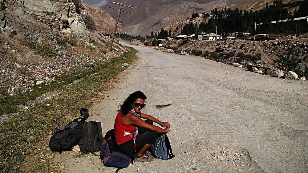 Fann Mountains road, Tajikistan