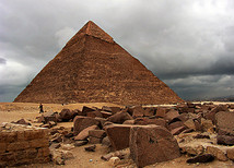 Pyamids of Giza, Cairo, Egypt