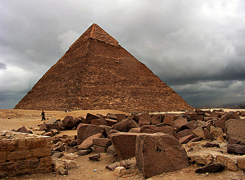 Pyamids of Giza, Cairo, Egypt