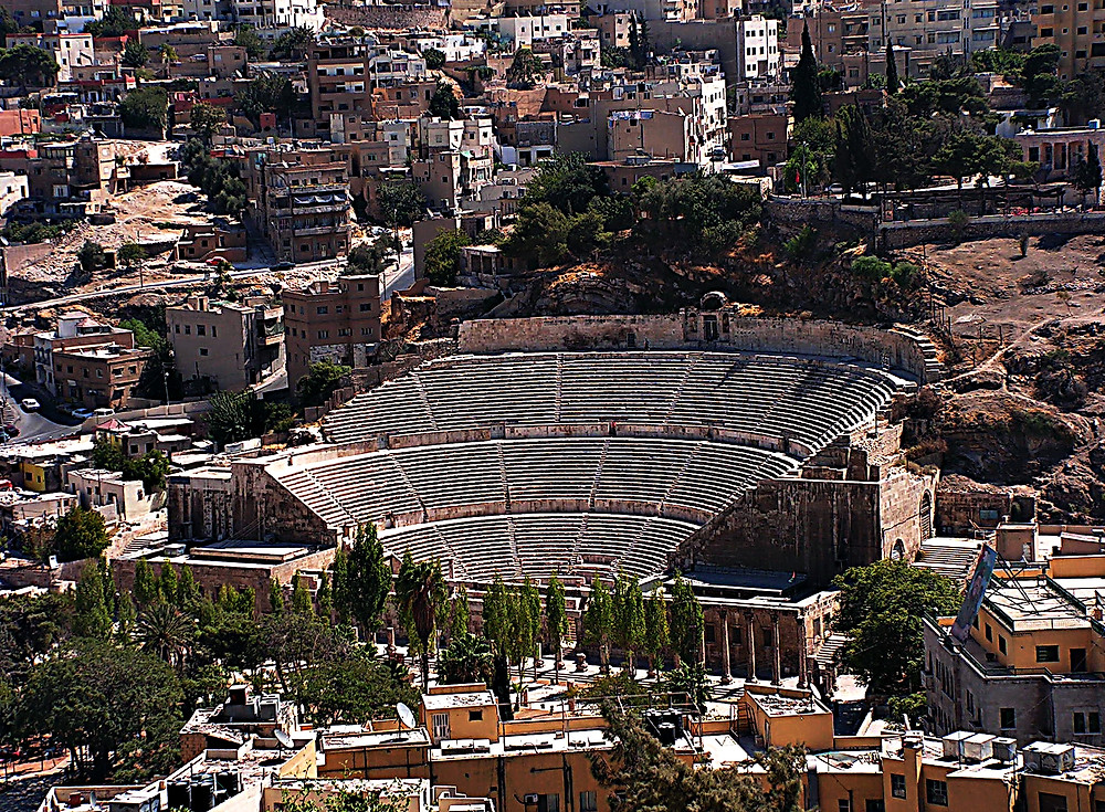 Amman's Roman amphitheatre, Jordan