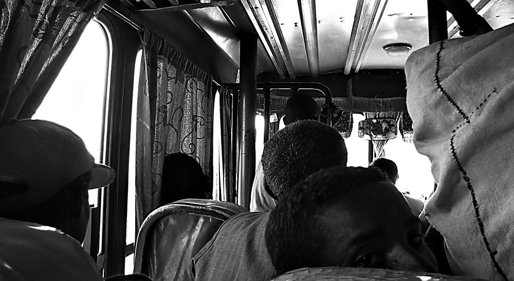 An Ethiopian bus