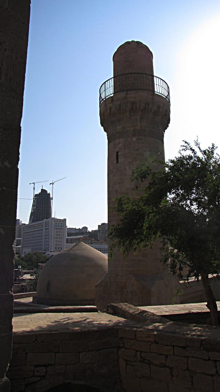 Muhammad Mosque, old town, Baku, Azerbaijan