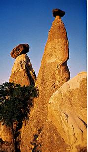 Rock Formations, Cappadocia, Turkey