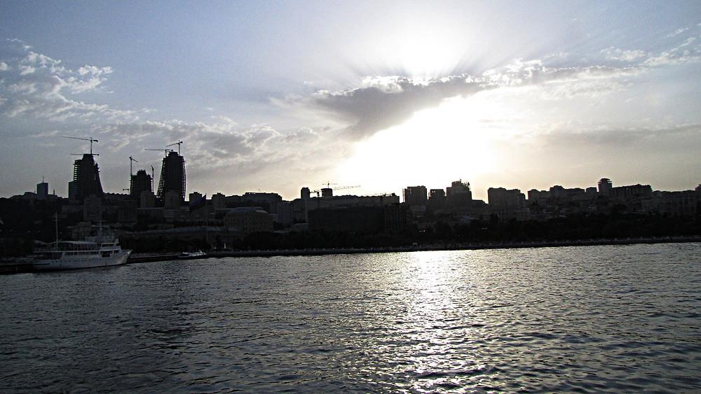 Baku skyline, Azerbaijan