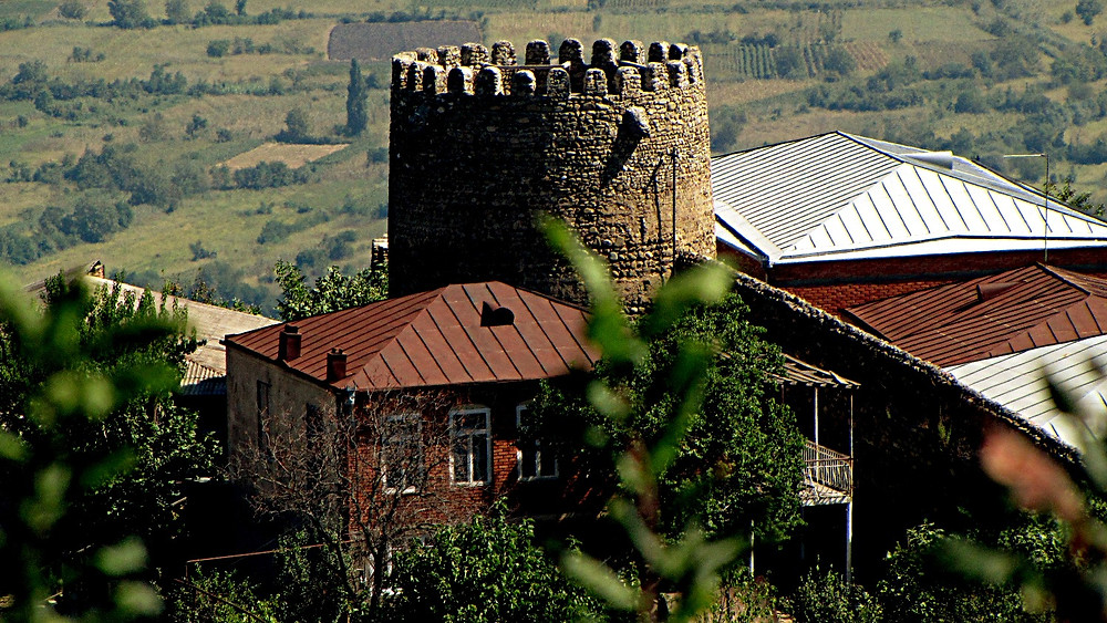 Defensive tower, Signaghi, Georgia