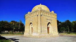 Mausoleum of the Samanids, Bukhara, Uzbekistan