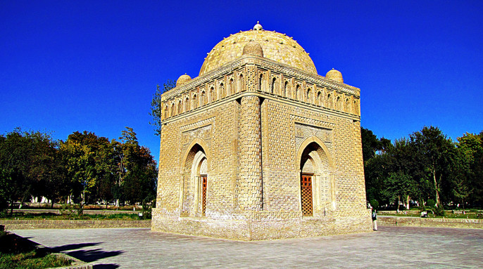 Mausoleum of the Samanids, Bukhara, Uzbekistan