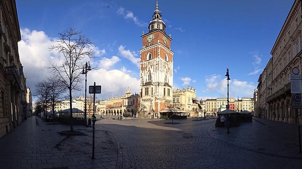 Ratusz, Market square, Krakow