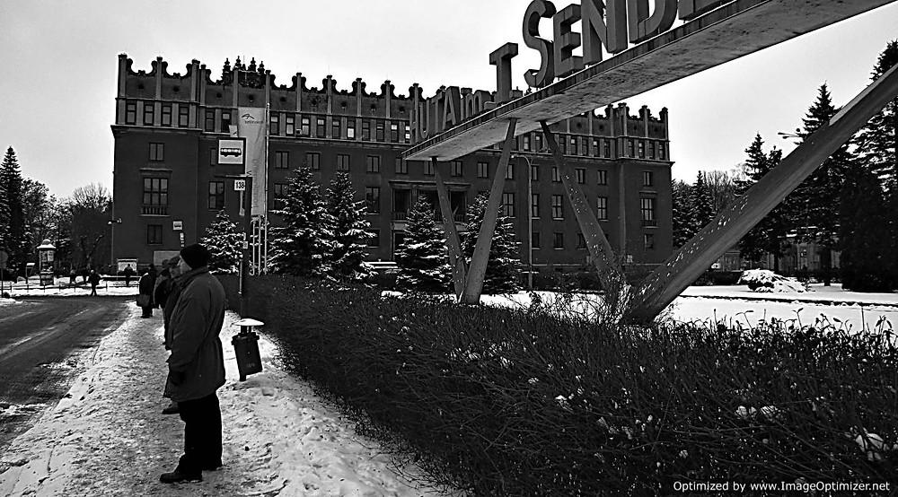 Sendzimierz Factory gates, Nowa Huta