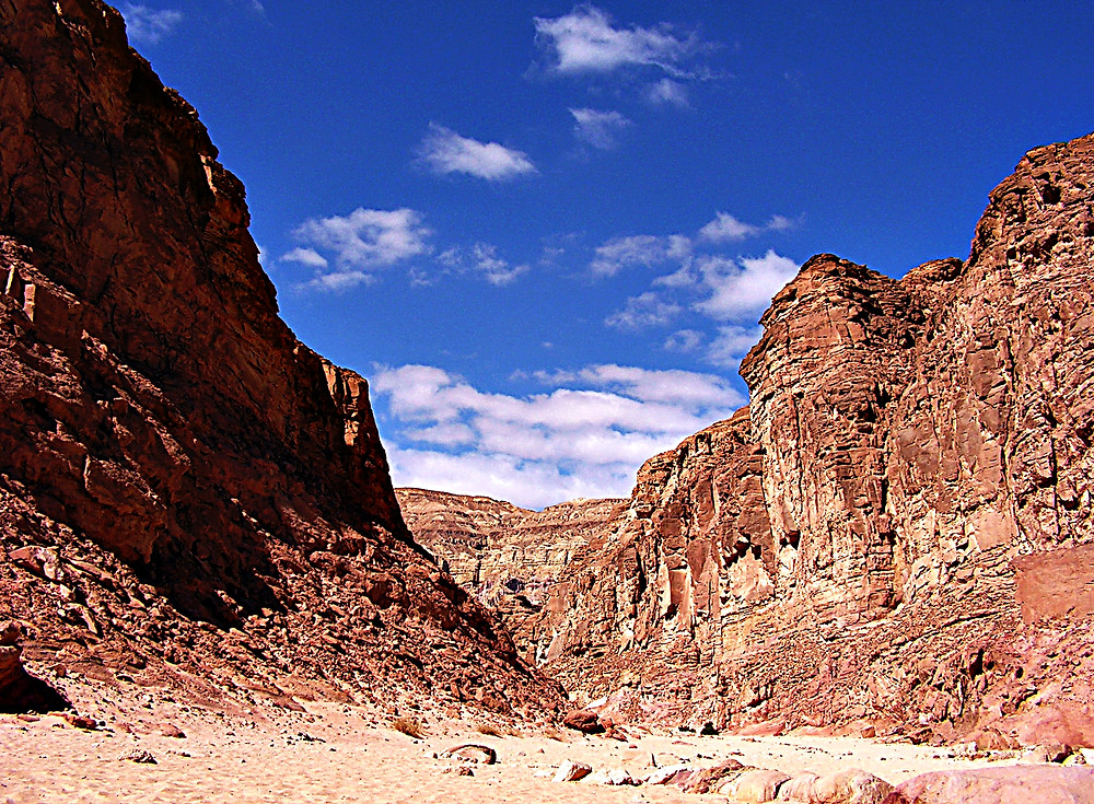 The Coloured Canyon, Nuwaiba, Sinai, Egypt