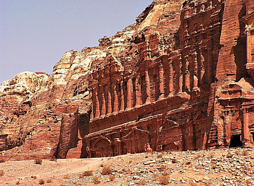 Nabatean Tombs, Petra, Jordan