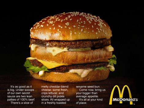 McDonalds Ad Photography