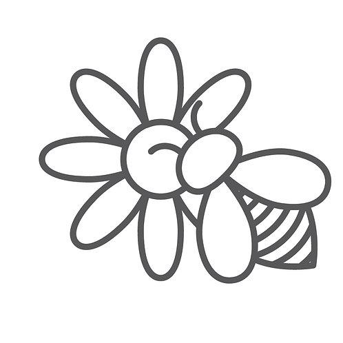 Bienenwachstuch + 50 m² Blühfläche