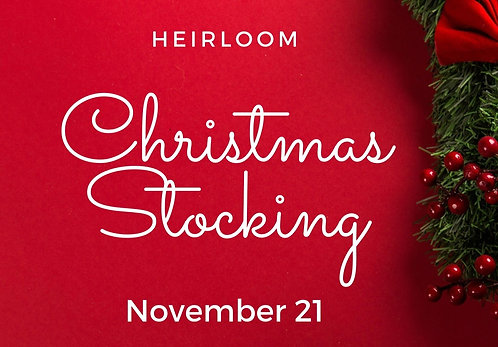Nov. 21: Heirloom Christmas Stocking Workshop