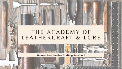 Homeschool Sheath Making Class