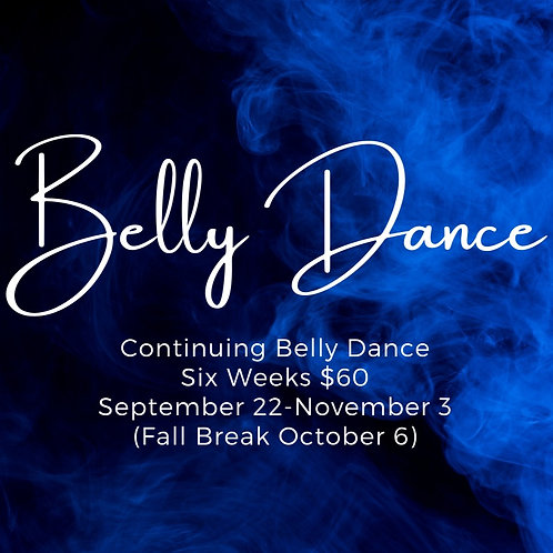 Continuing Belly Dance