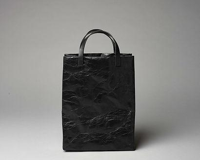 taška, tote bag, papírová kůže, veganský produkt