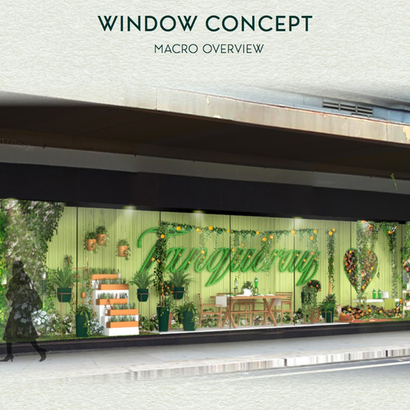 Tanqueray Window Display
