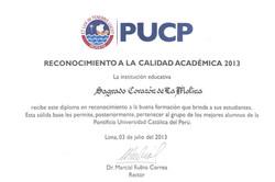 PUCP 2013