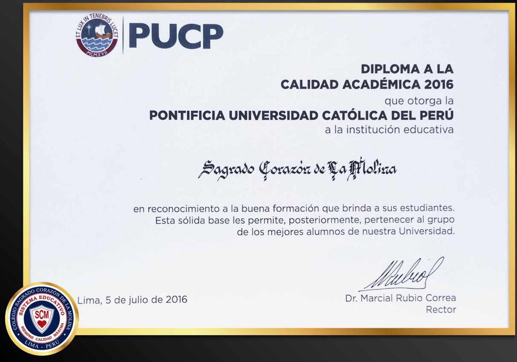 PUCP 2016