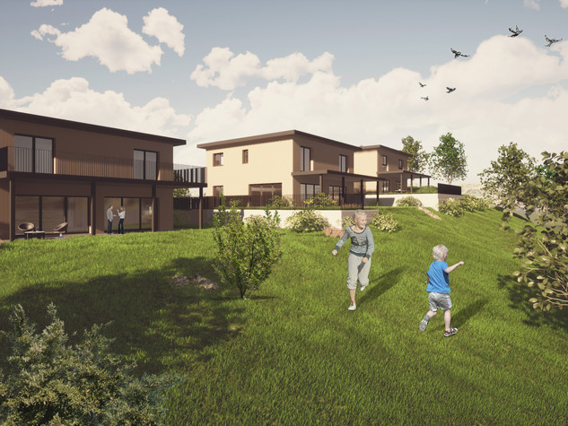 3 Einfamilienhäuser