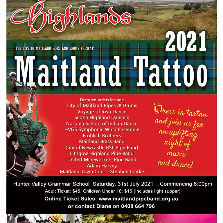 2021 Maitland Tattoo