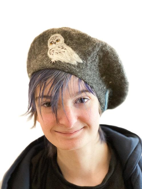 Snowy Owl beret