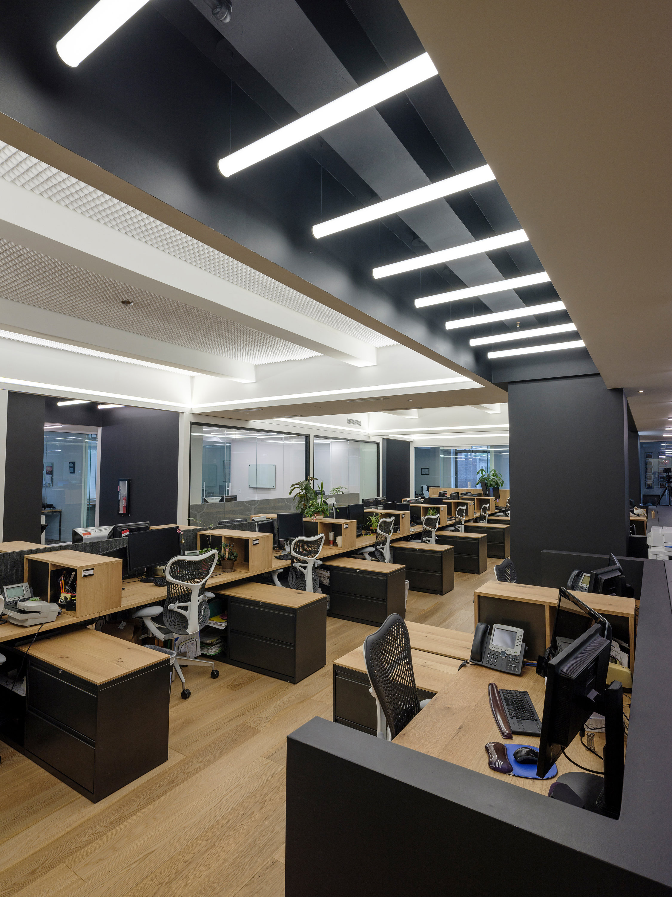 Central Work Space