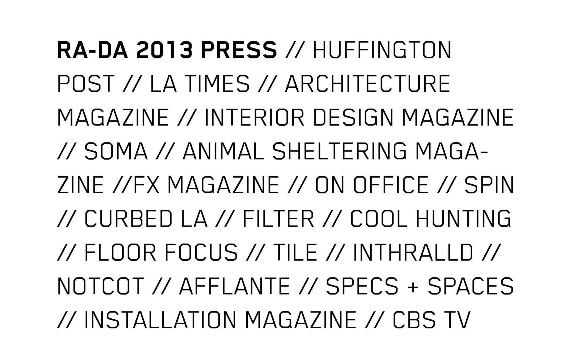 RA-DA PRESS