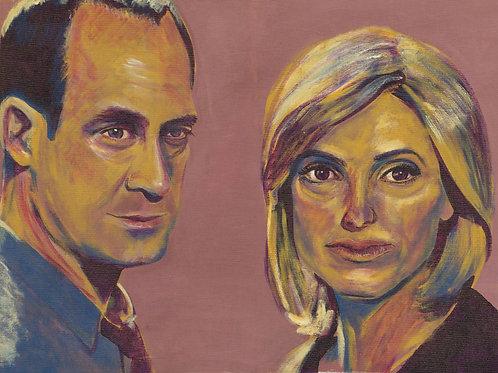 Elliot and Olivia Print
