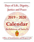 OFFICE OF SOCIAL JUSTICE CALENDAR 2019-2