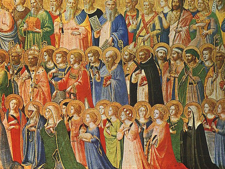 Why do we pray to saints?