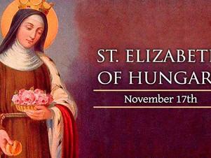 November 17: Saint Elizabeth of Hungary, Religious