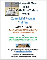 OCT 2020 What does it mean to be Catholi