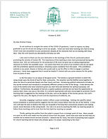 Letter to priests election year OCTOBER