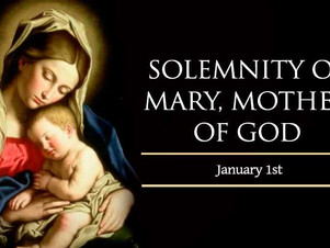 January 1: Mary, Mother of God
