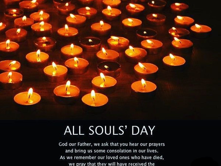 November 2: All Souls, The Commemoration of All the Faithful Departed