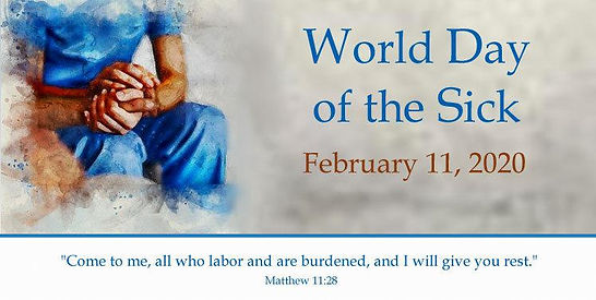 11 WORLD DAY OF THE SICK