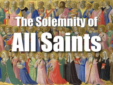 November 1: Solemnity of All Saints