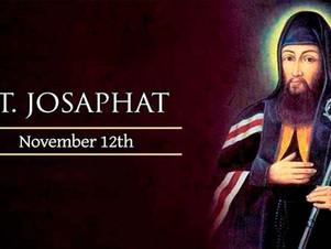 November 12: Saint Josaphat, Bishop and Martyr