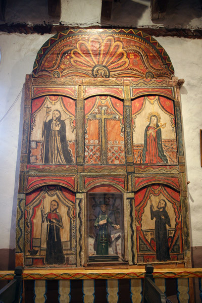 REREDOS AND BULTOS