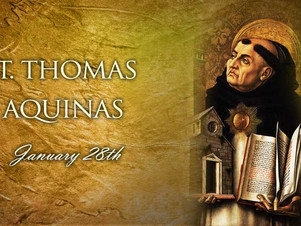 January 28: St. Thomas Aquinas, Priest, Doctor of the Church