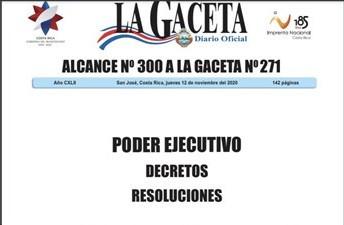 Importante noticia publicada en La Gaceta