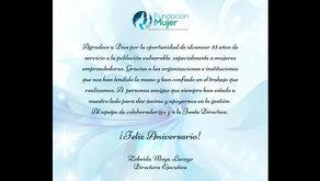 Fundación Mujer celebra su 33 Aniversario