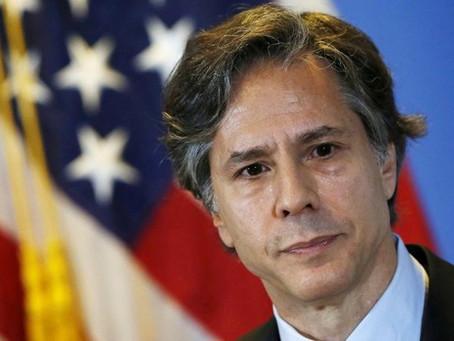 Secretario de Estado Antony J. Blinken de Estados Unidos menciona gestión de Fundación Mujer